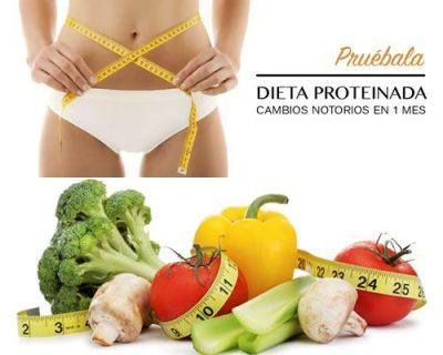 Tratamiento dietas proteinadas.